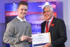 Two Studley Apprentices received awards at ECITB 2016