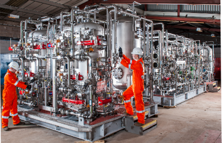 State-of-the-Art Offshore Water Treatment Facility