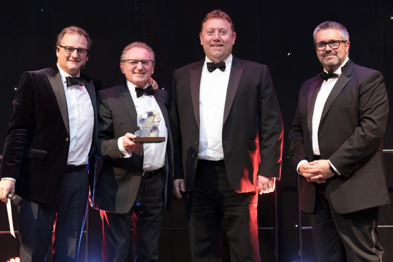 Studley's Scoop Award for Engineering Firm of The Year 2018!