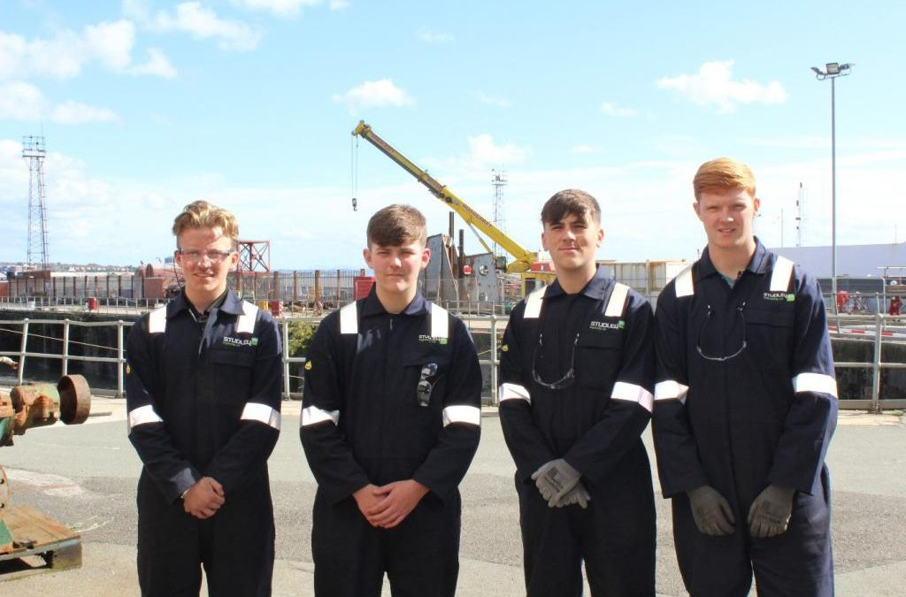 Meet Studley's SIX new Apprentices