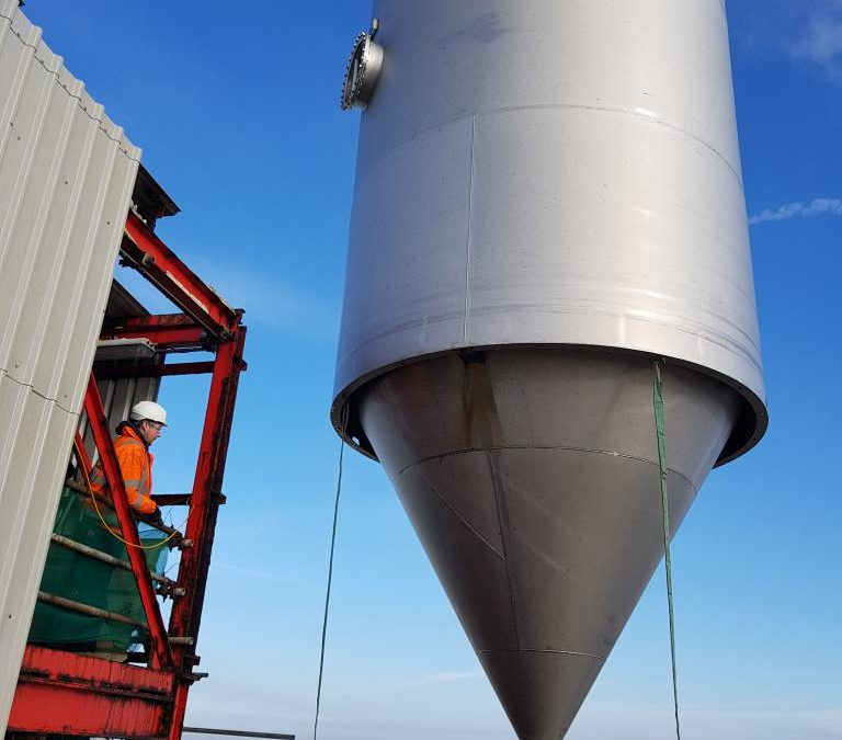INEOS ENETRPRISES REPLACEMENT SILO PROJECT